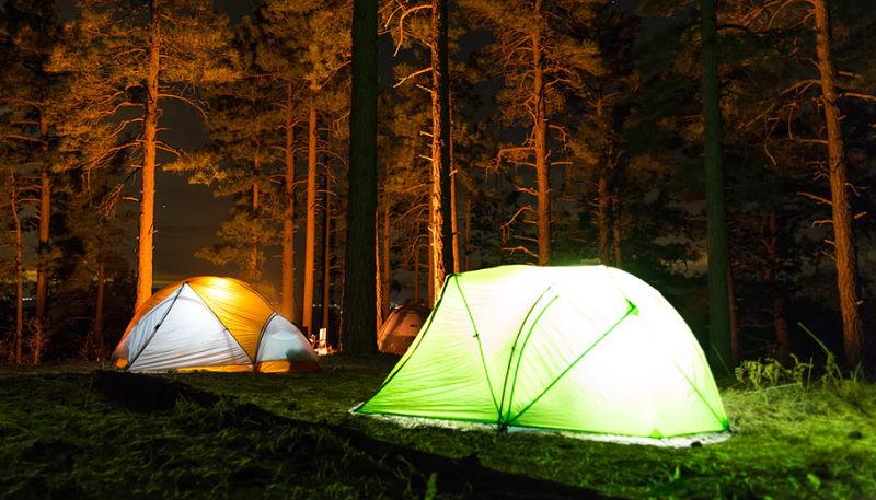 Camping an der Müritz