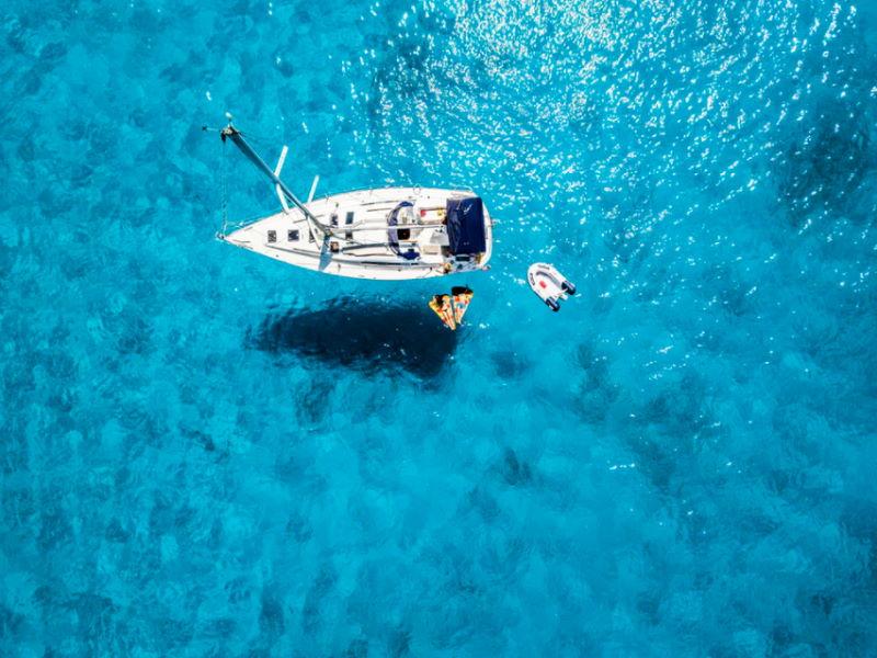 Machen Sie Urlaub auf See