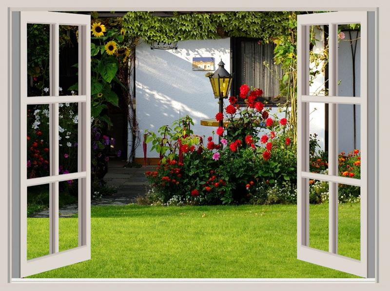 Urlaub im Gartenhaus