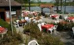 Campingplatz Hollenbacher Seen - Gartenwirtschaft am See