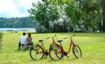 Fahrradtour am Lübbesee
